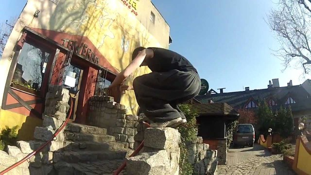 3Run Power Poland , Johan Sampler 2012 Parkour & Freerunning