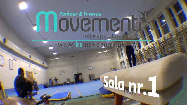 Treningi KS Movement – Sala nr 1 AWFiS Gdańsk