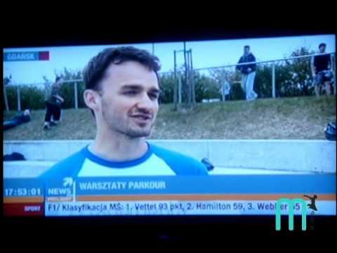 Wywiad w Polsat News – warsztaty parkour